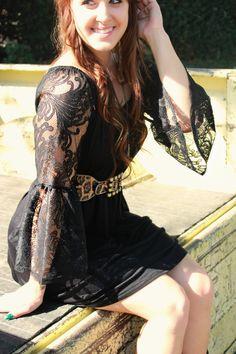 Black Magic Woman Dress – Leah B. Boutique