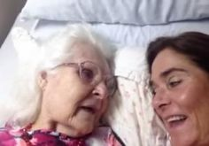 VIDEO: Georgia woman suffering from Alzheimer's recognizes her daughter, 'I love you Kelly'