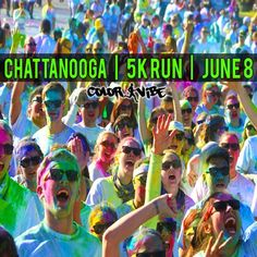 Chattanooga Color Vibe 5k --- only I want to do Greenville whenever it opens up.