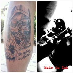 Tattoo Made In Ink Irie Grow Shop dead