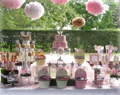 sweet fairy candy table