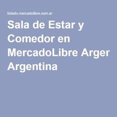 Sala de Estar y Comedor en MercadoLibre Argentina