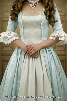 Trevillion Images - woman-in-historical-dress-with-necklace