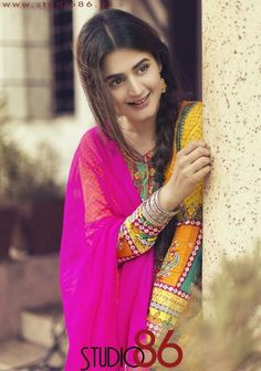 Paglii Pakistani Lawn Suits, Pakistani Girl, Pakistani Actress, Pakistani Dresses, Bollywood Actress, Hira Mani, Prettiest Actresses, Senior Girl Poses, Muslim Girls