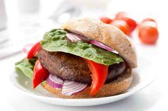 Wegetariańskie burgery z portabellą #smacznastrona #omnomnom #food #vege #healthy