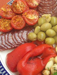 Antipasto Platter (Meat). Too hot to eat anything warm? Make an Antipasto platter for the whole family