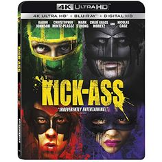 Kick-Ass 4K Ultra HD [4K   Blu-ray   Digital]         -- For more information, visit image link. (This is an affiliate link) #MoviesTV