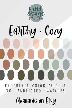 Website Color Palette, Spring Color Palette, Earthy Color Palette, Color Palate, Neutral Colour Palette, Website Color Schemes, Spring Colors, Earth Tone Colors, Color Swatches