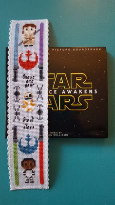 Star Wars Cross Stitch Bookmark finished by HouseElfStitchery