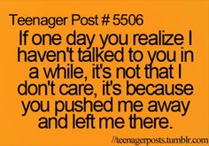 Story of my life... I will end up friendless with nothing to show for my life why does this keep happening to me????
