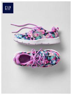 GapFit kids geometric sneakers