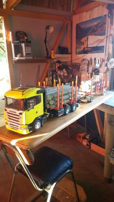 Scania r400 Wooden Truck, Scale Models, Wood Projects, Trucks, Furniture, Home Decor, Wood, Miniatures, Decoration Home