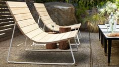 Plank Lounger by Council Might Be The Perfect Deck Chair