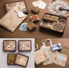 Vintage Stamp Set <3