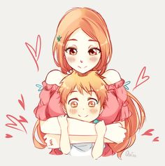 Orihime y Kazui