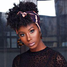 Hair Wrap Scarf, Hair Scarf Styles, Curly Hair Styles, Hair Scarfs, Big Chop, Natural Hair Accessories, Short Hairstyles For Women, Natural Hairstyles, Black Hairstyles