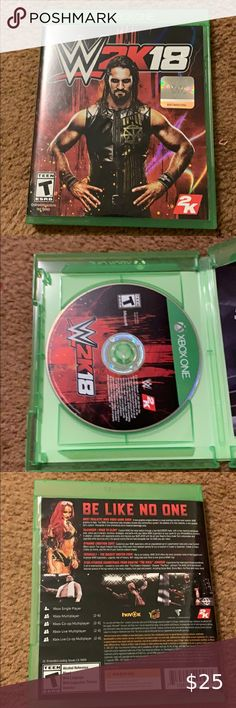 Shop Home's size Xbox One Other at a discounted price at Poshmark. Wrestling Games, Xbox One, Wwe, Video Game, Baseball Cards, My Favorite Things, Shopping, Things To Sell, Style
