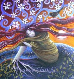 amanda clark artist | fairytale art print. Little Shaman by Amanda Clark
