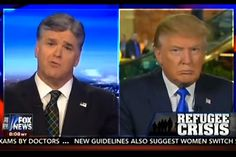 Sean Hannity can't stand dissent now that Donald Trump is the presumptive nominee. Where's the conservative who used to argue for open debate?