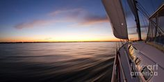 Sailing Sunset Beneteau 49 Sailboat Photograph by Dustin K Ryan - Sailing Sunset Beneteau 49 Sailboat Fine Art Prints and Posters for Sale