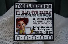 Toy Story Birthday Party- Jessie and Woody! Toy Story Party Ideas |