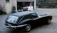 Bud Cort & Harold's Jaguar Hearse from Harold and Maude (1971)