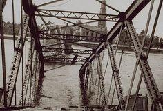 IJsselbrug Kampen (jaartal: 1920 tot 1930) - Foto's SERC Utility Pole, Nostalgia