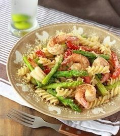 lemon grass olive oil pasta recipe with spices and herbs, asparagus ...
