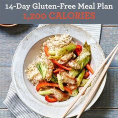14-Day Gluten-Free Meal Plan: 1,200 Calories - EatingWell.com
