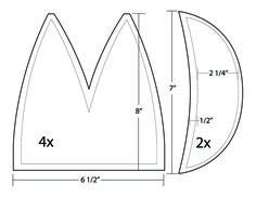 free sewing pattern: cycling cap