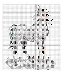 Cross Stitch Horse, Cross Stitch Art, Cross Stitch Alphabet, Cross Stitch Animals, Cross Stitching, Cross Stitch Boards, Free Cross Stitch Charts, Cross Stitch Bookmarks, Cross Stitch Patterns