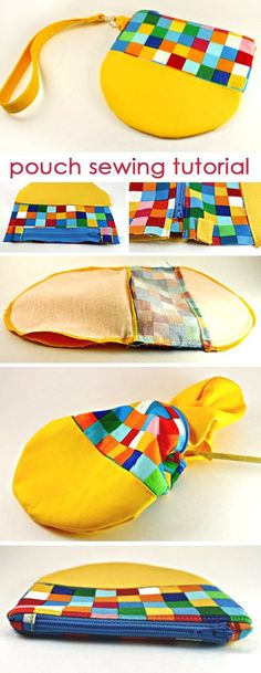 step-by-step instructions on how to make pouch bag http://www.free-tutorial.net/2017/09/remix-pouch-tutorial.html
