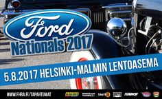 Ford Nationals 2017 - liput - Helsinki-Malmin Lentoasema, Helsinki - 5.8.2017 - Tiketti