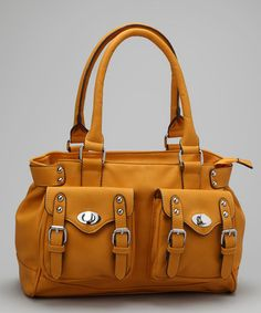 Take a look at this Yellow Lana Tote by Melie Bianco on #zulily today!