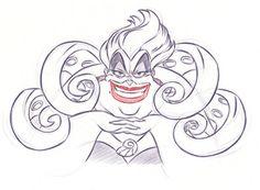 disney villains coloring page ursula disney coloring pages