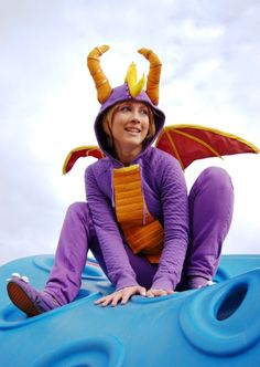 Spyro. I'd love to wear this even as a set of spectacular onesie pajamas! :-D