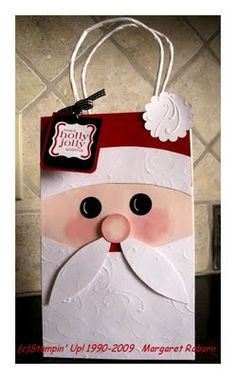 Santa bag for the kids in your life.