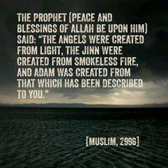The Three #Creations (#Islam, #Hadith, #Angels)