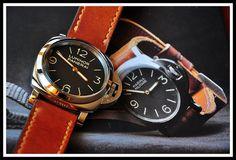 PAM 1950 case with plexiglas. Watches, Leather, Accessories, Fashion, Wristwatches, Moda, Fashion Styles, Clocks, Fashion Illustrations