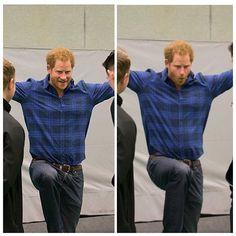 #princeharry #cuteface #smile #royal #royalfamily #charity #royalfoundation #britishroyalfamily #nottingham