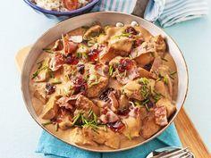 Kycklingfilé i senapssås Snack Recipes, Snacks, Something Sweet, I Love Food, Lchf, Potato Salad, Bacon, Food Porn, Food And Drink