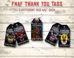 Five Nights at Freddy's banners Five Nights at