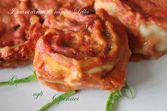 Girelle agli spinaci I manicaretti di nonna Lella
