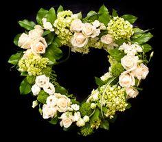 Pinner said: Open Heart in Darien CT, Nielsens Florist And Garden Shop. We say: Beautiful!