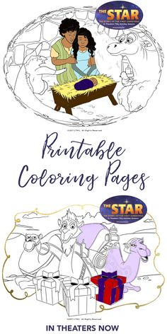 This Holiday Season Witness The Beautiful Nativity Story Through A Whole New Set Of Eyes Find Star Coloring Sheets At TheStarMovie And Teach
