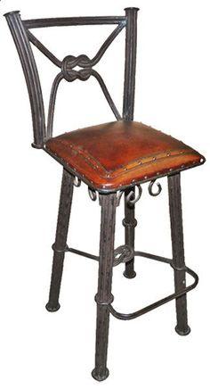 "Western Iron 30"" Bar Stool (Set of 2)"