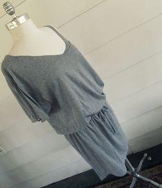 WobiSobi: Tie-Waist, T-shirt Dress: DIY