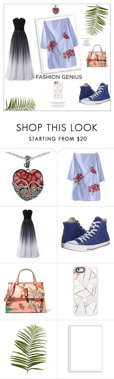 """""""Getting Married"""" by jessicakim825 ❤ liked on Polyvore featuring beauty, Lord & Taylor, Converse, Gucci, Casetify, Pier 1 Imports, Bomedo and StyleNanda"""