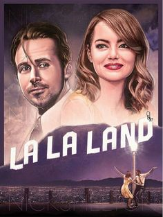 La La Land Hollywood Poster