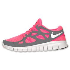 Own these and they are the best running shoes EVER. Nike Free Run+2.